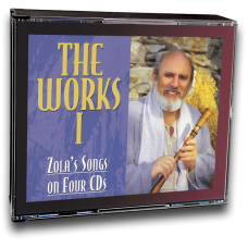 Works I: All of Zola's Songs on CD