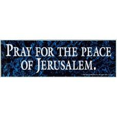 Bumper Sticker, Pray For Peace
